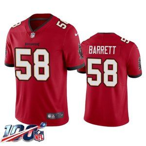 Tampa Bay Buccaneers Shaquil Barrett Red Jersey